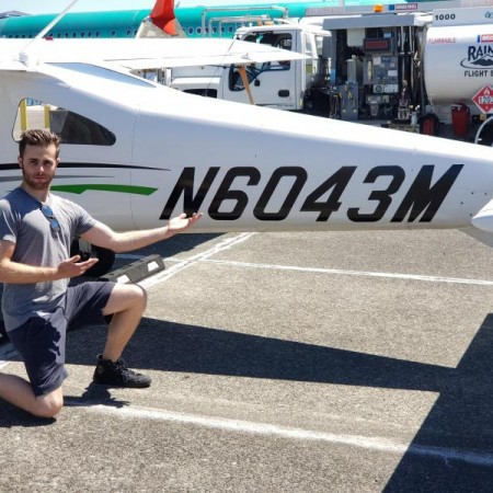 Student Pilot Kenneth Hitchings