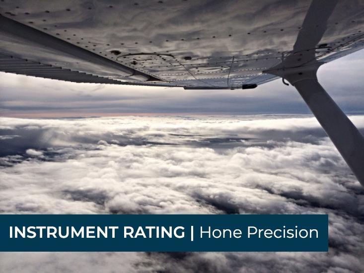 Seattle Flight Training | Instrument Rating | Bad Weather Instruction